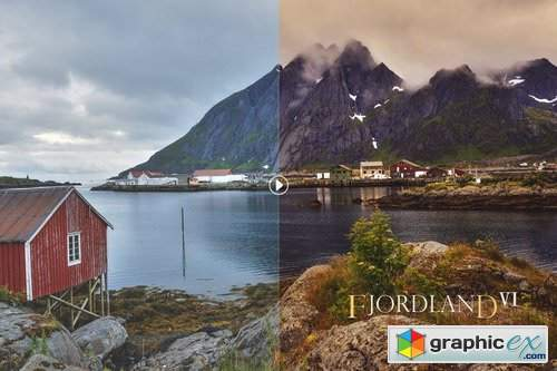 Fjordland Landscape Photoshop Actions
