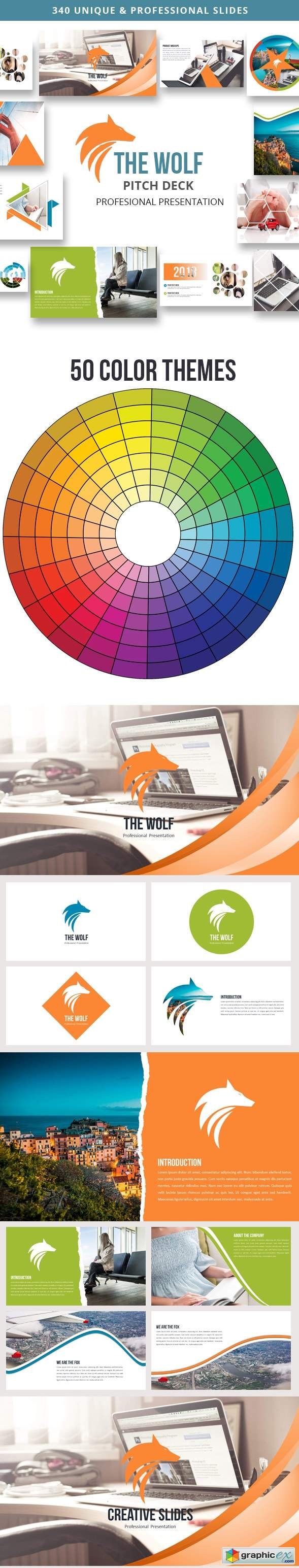 The Wolf - Multipurpose Powerpoint Presentation