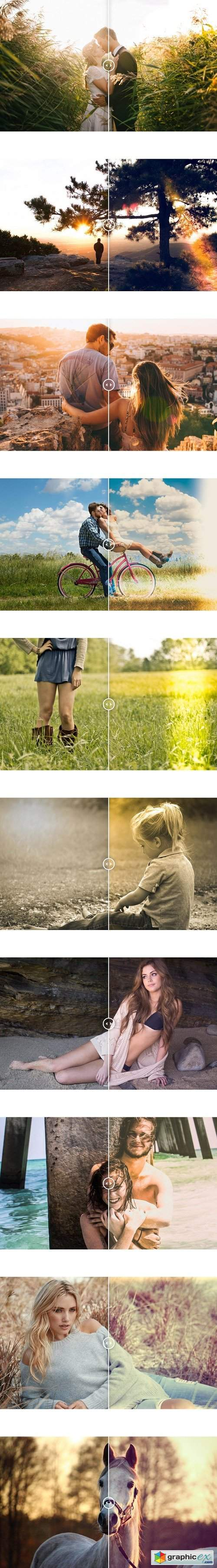 Photonify - Light Leaks Collection Lightroom Presets