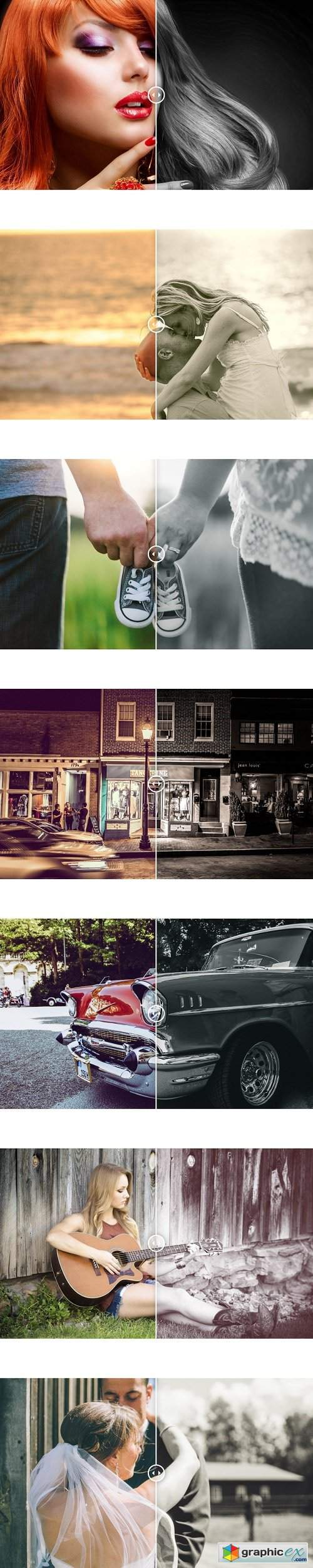 Photonify - Monochrome Collection Lightroom Presets