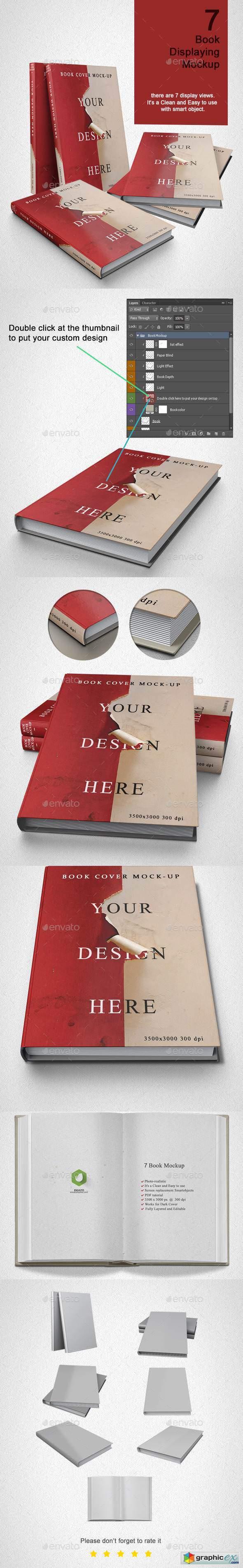 Book Mock up - 7 Model 21973325