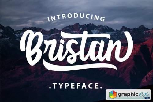 Bristan - 2 Fonts