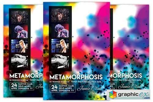 Metamorphosis Flyer