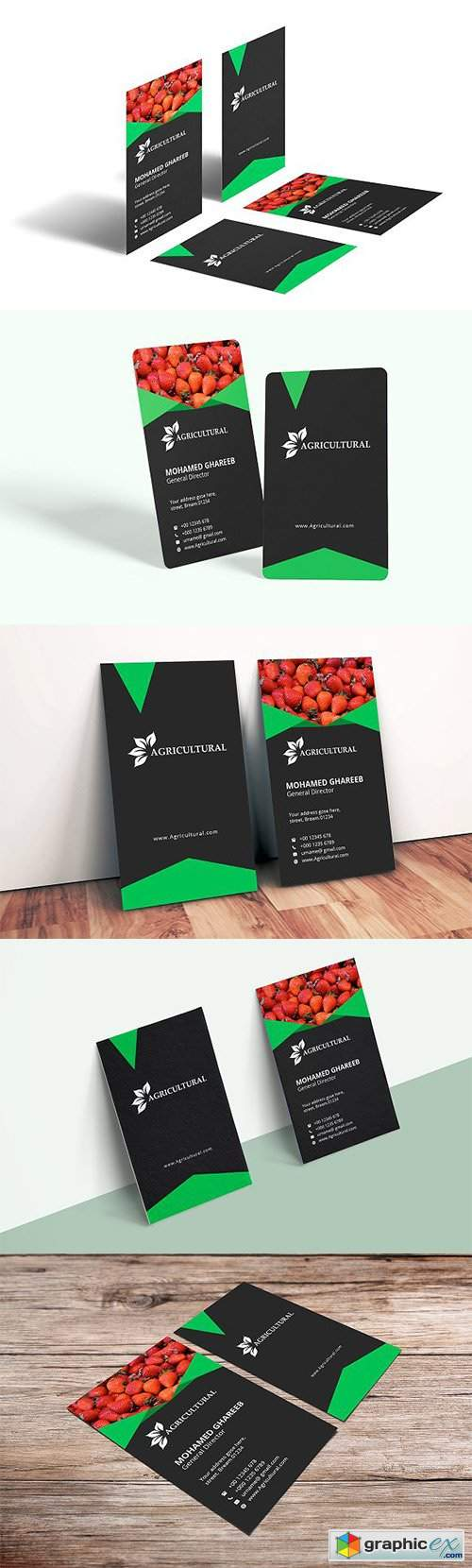 Agriculture Business Card 2633130