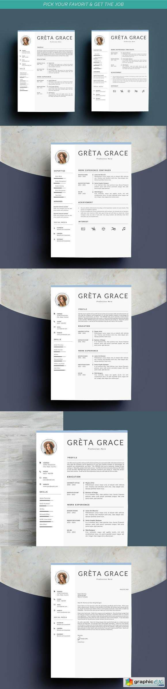 Professional Resume Template Clove