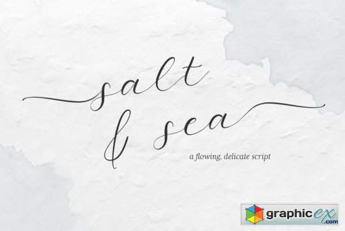 Salt and Sea Font