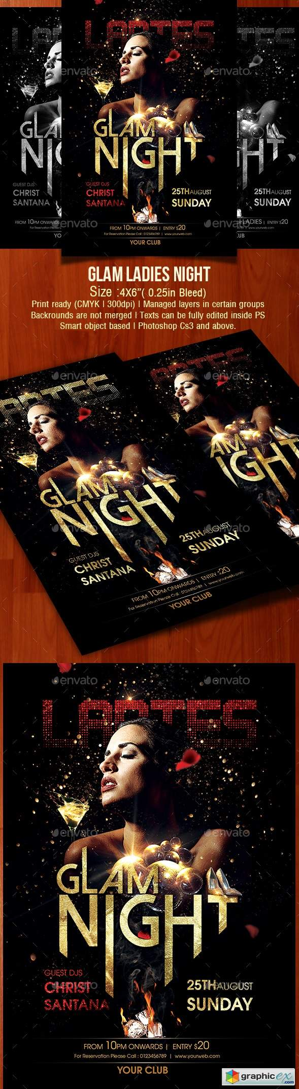 Glam Ladies Night 22359014