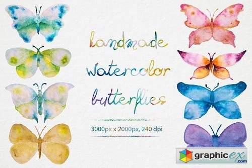 Watercolor Butterflies 873805