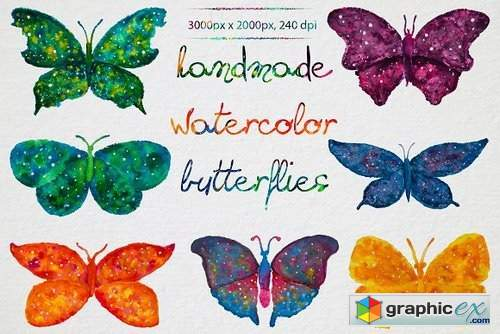 Watercolor Butterflies 873804