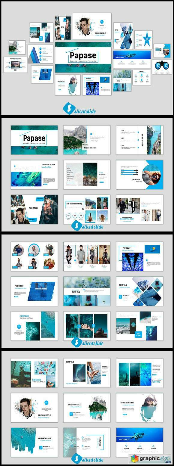 Papase Powerpoint Template