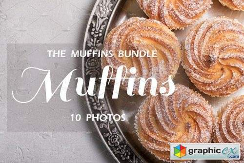 The MUFFINS BUNDLE - 10 Photos