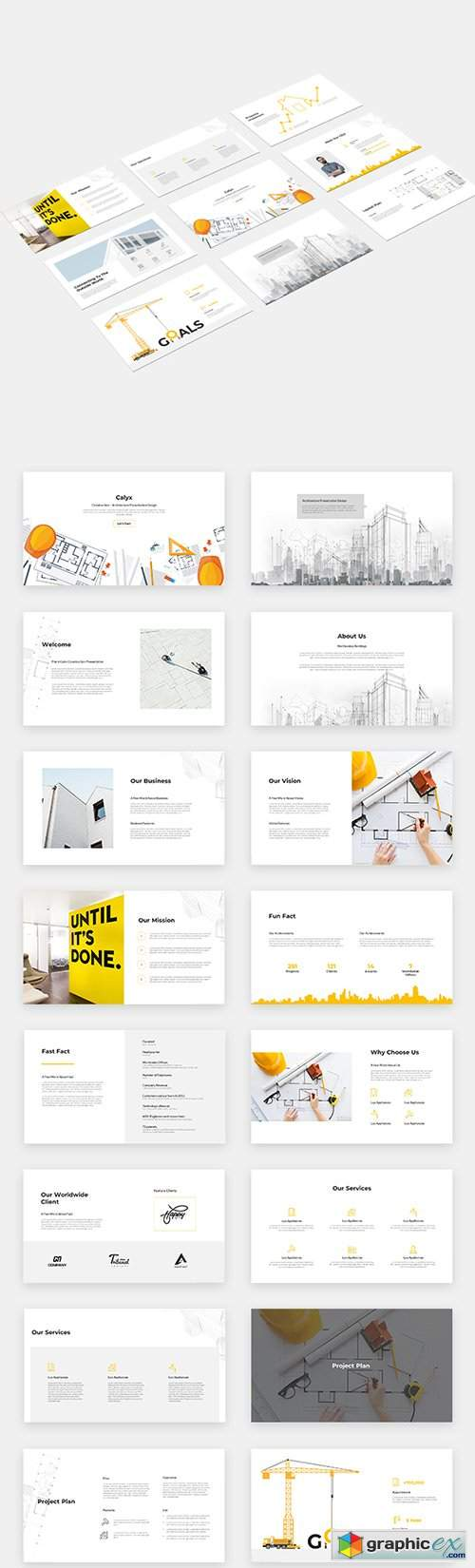 Calyx Google Slides Template