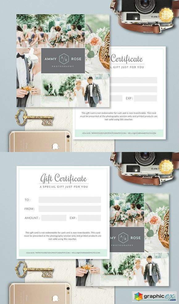 Gift Certificate Template GC001