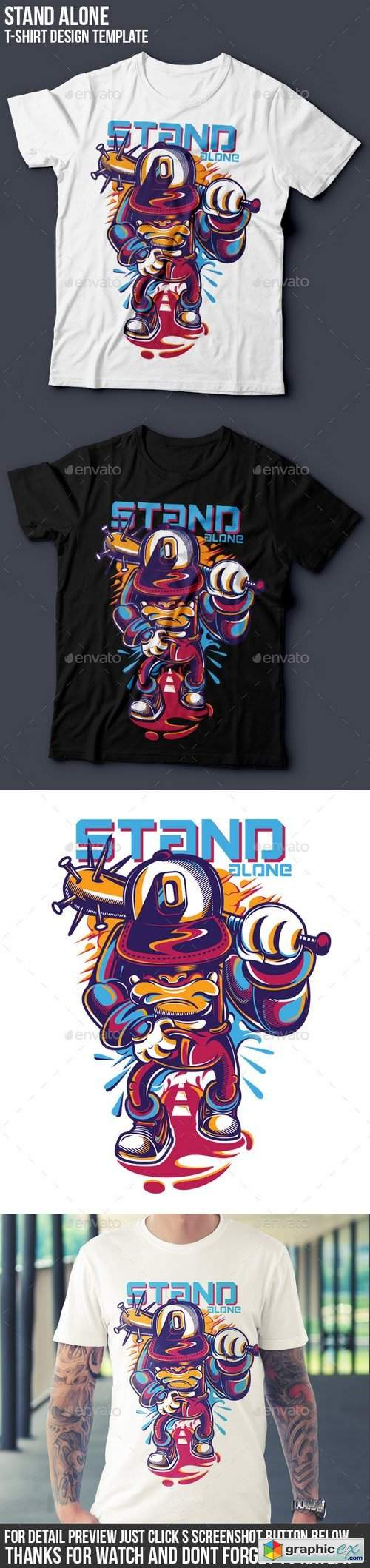 Stand Alone T-Shirt Design