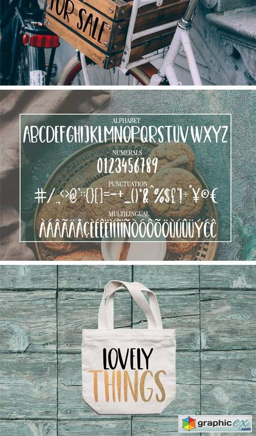 Cute, Casual, Handwritten Font COOKIES