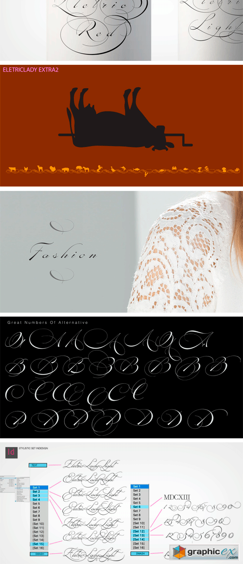 Electric Lady Font Family