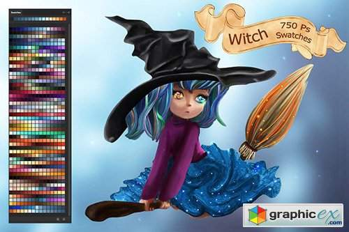 Witch Swatches
