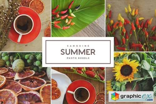 Sanguine Summer Photo Bundle