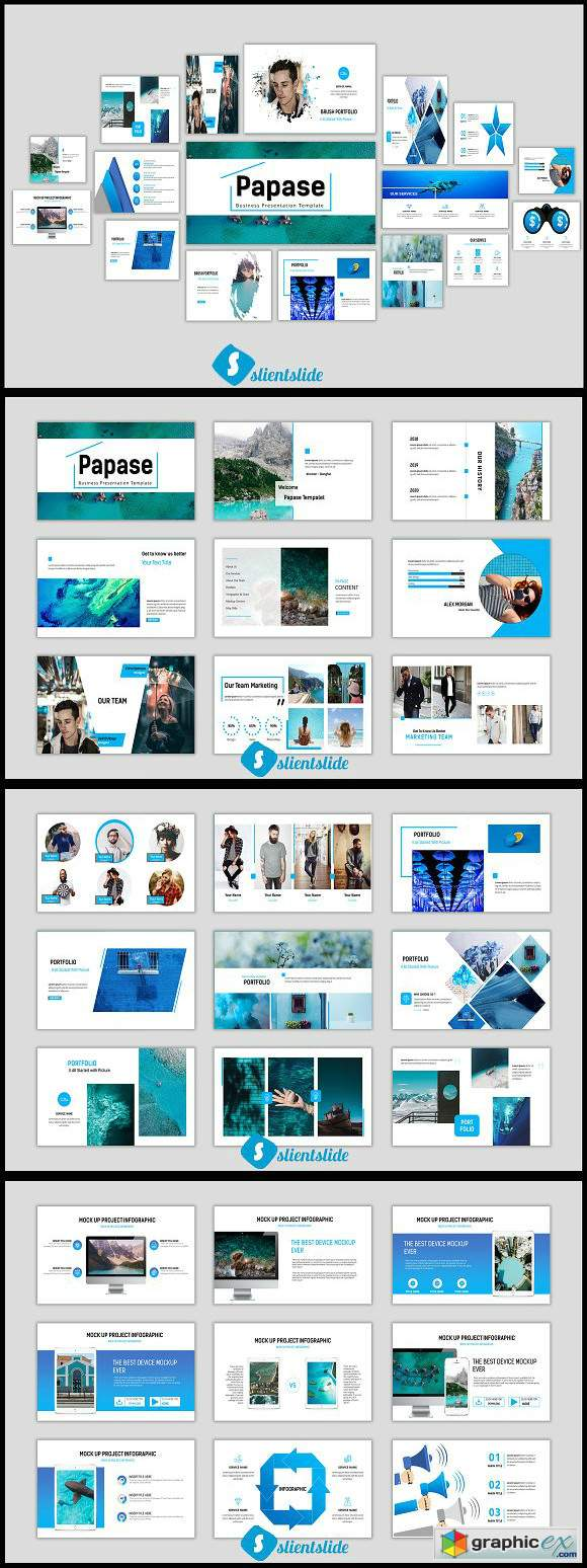 Papase Business Powerpoint Template