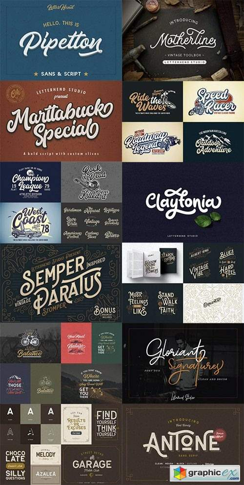 123 Best-Selling Fonts & 552 Premium Graphics and Logos