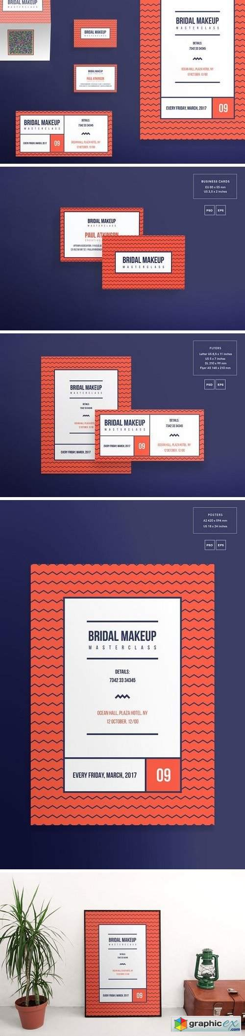 Print Pack | Bridal Makeup