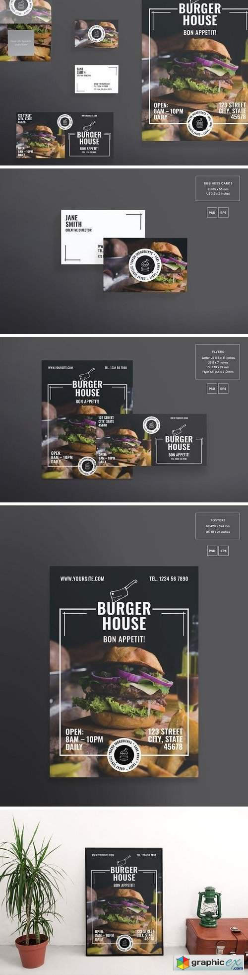 Print Pack | Burger House
