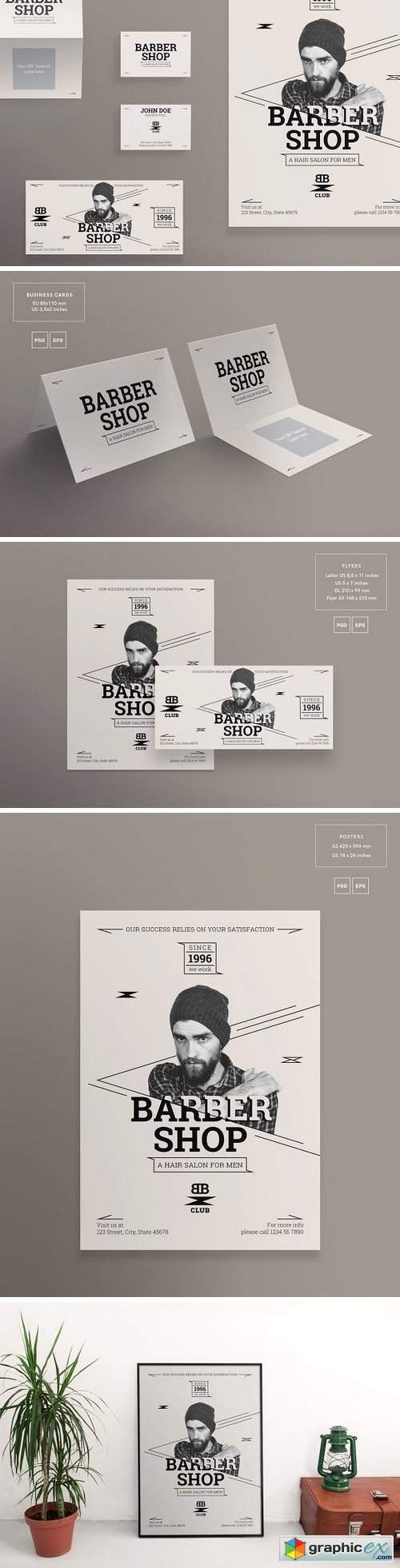 Print Pack | Barber Shop
