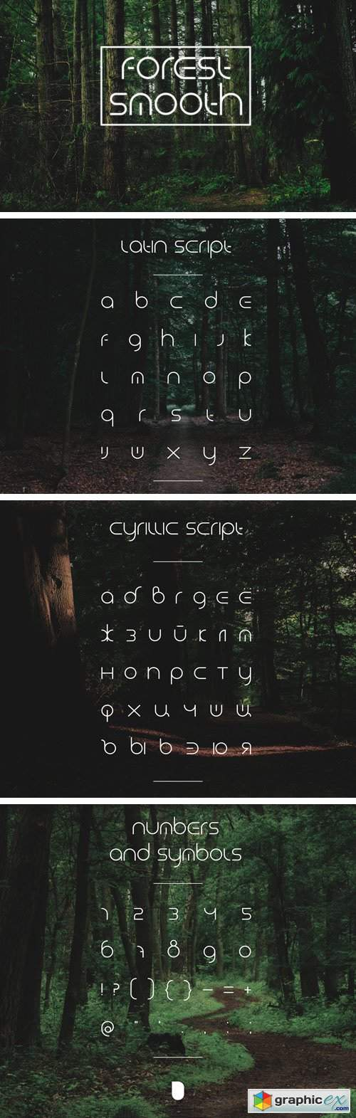 ForestSmooth Typeface