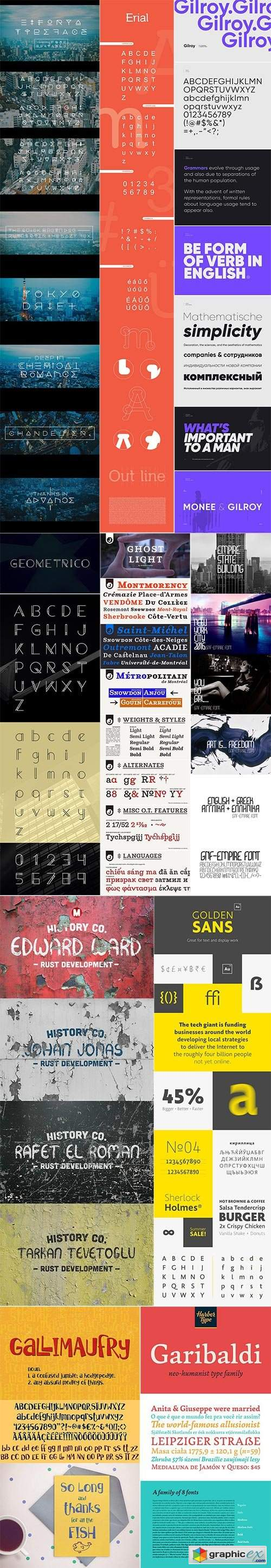 Mix Fonts Bundle 51