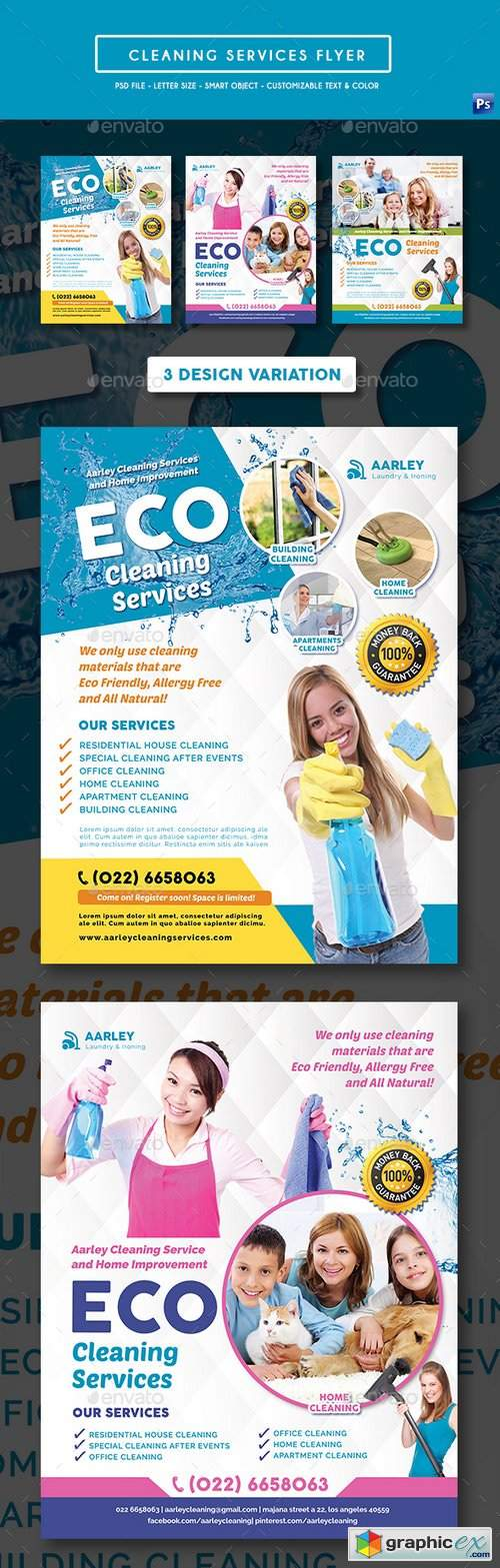 Cleaning Services Flyer 19585464