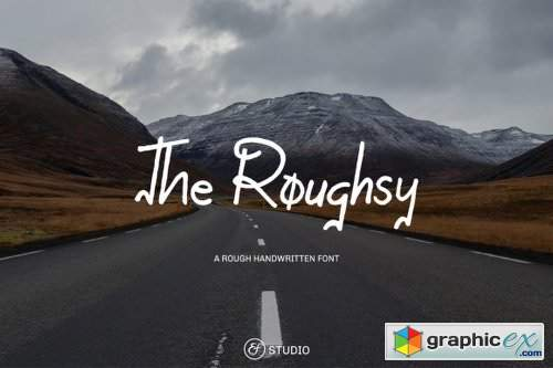 The Roughsy Font