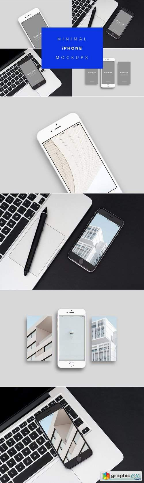 iPhone Mockups Minimal Version