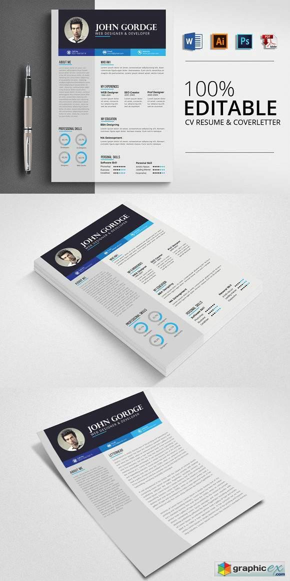 Business Job CV Resume Word