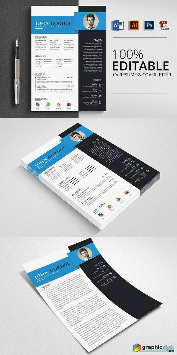 Creative Word CV Resume