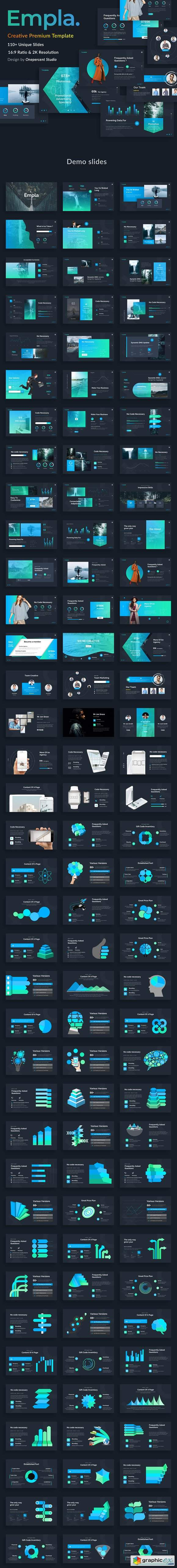 Empla Creative Powerpoint Template