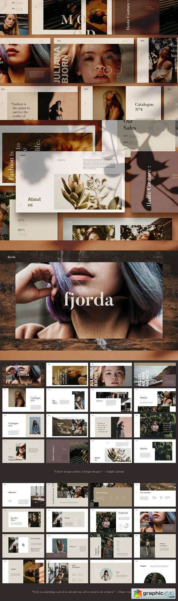 FJORDA - Powerpoint Template 2961016