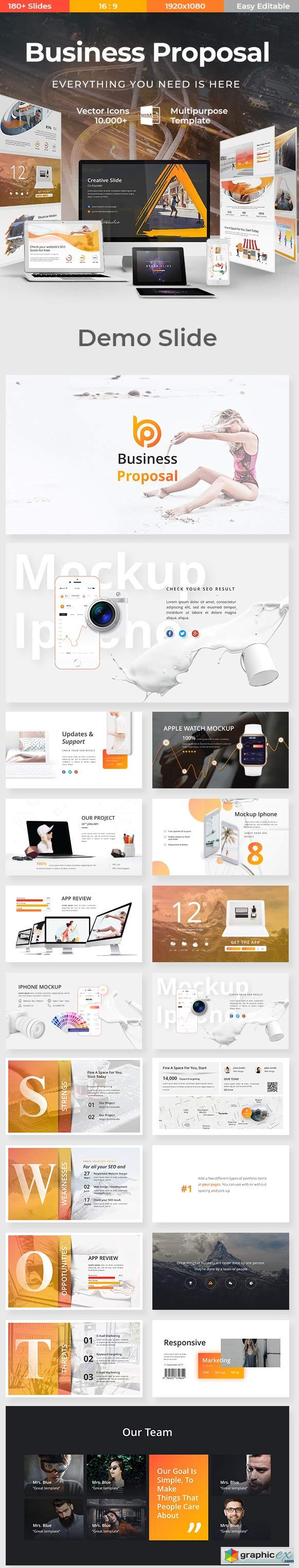Business proposal powerpoint template 22604356 free download business proposal powerpoint template 22604356 wajeb Images