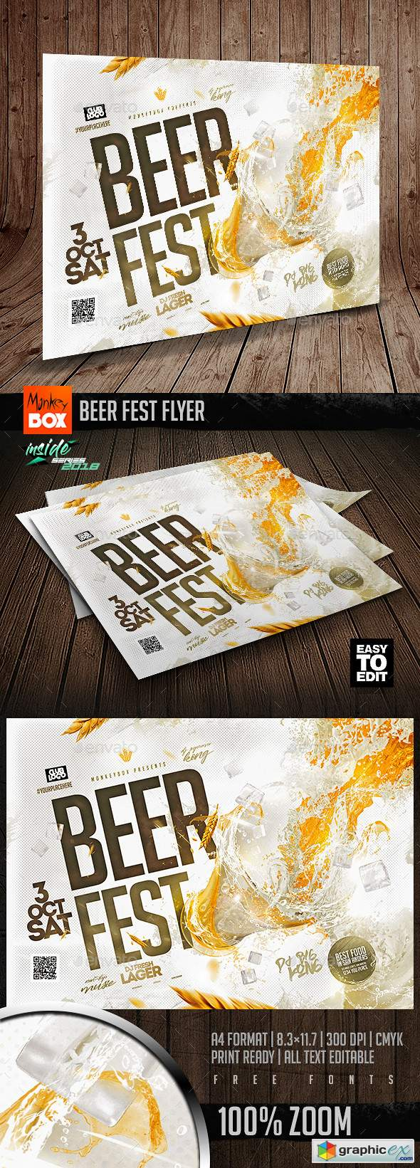 Beer Fest Flyer 22643225