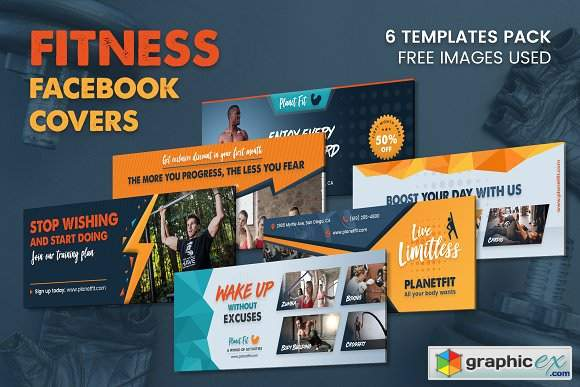 Fitness Facebook Cover 3012419