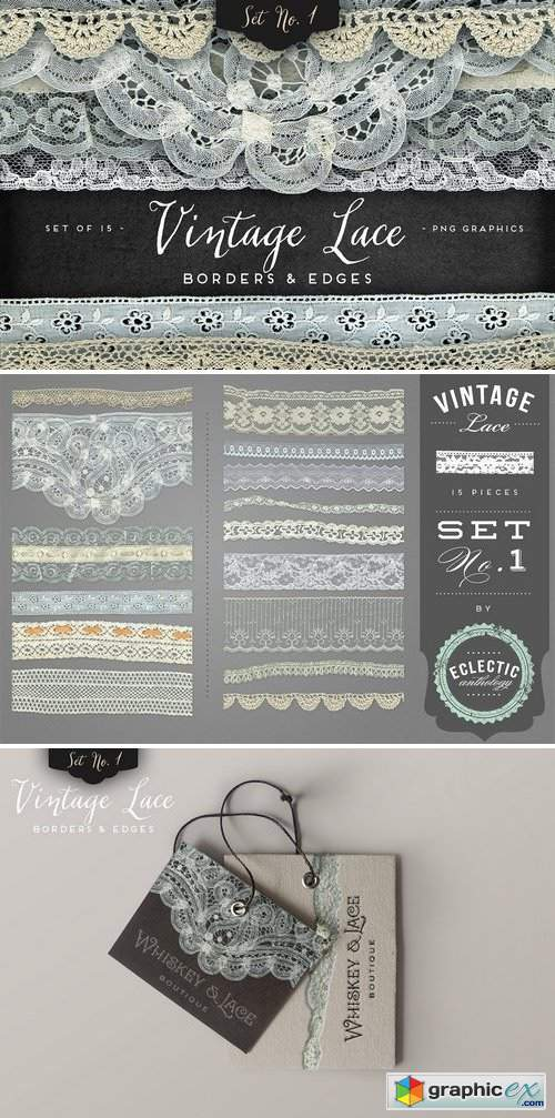 Vintage Lace Borders & Edges