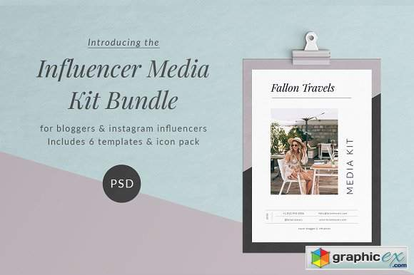 Influencer Media Kit Bundle