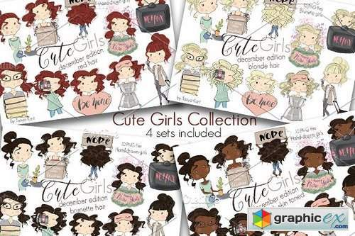 Cute Girls December Edition