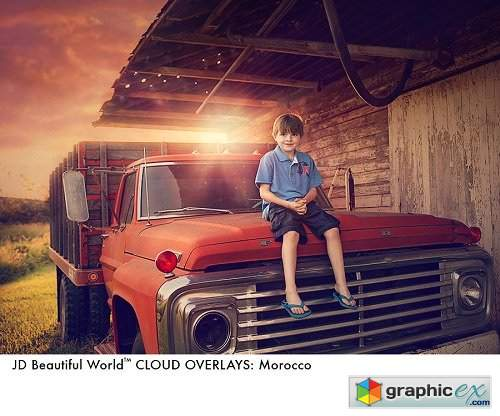 Jessica Drossin Beautiful World: Clouds + Overlays