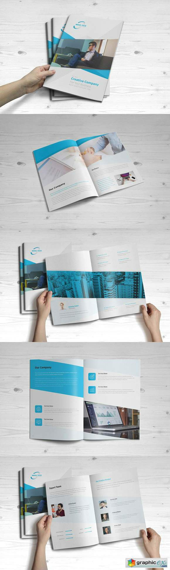 Business Brochure 16 Pages