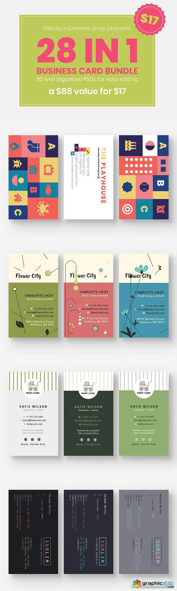 Business Card Bundle 03