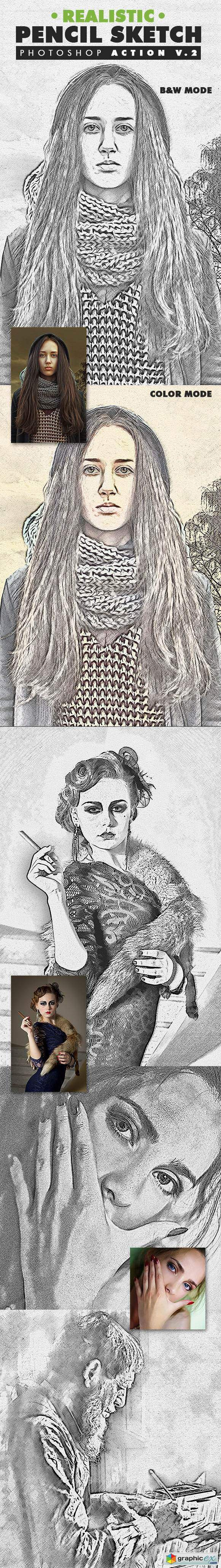 Pencil sketch pattern photoshop free download