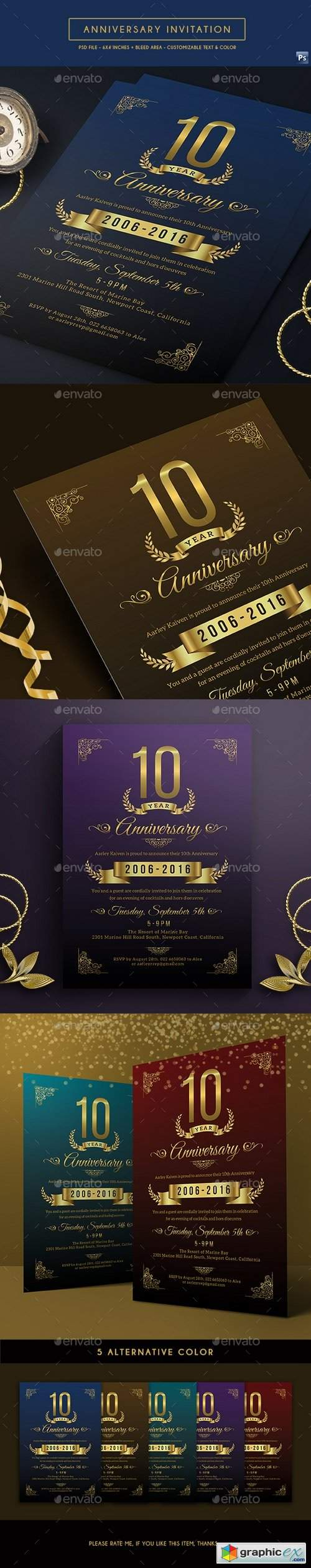 Anniversary Invitation 17546141