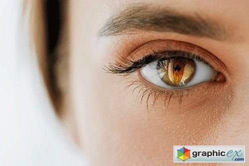 Phlearn - Amazing Eyes Photoshop Action