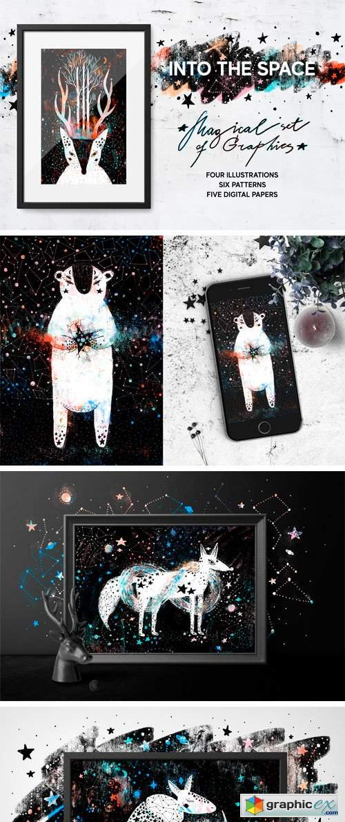 Into the Space | Graphics