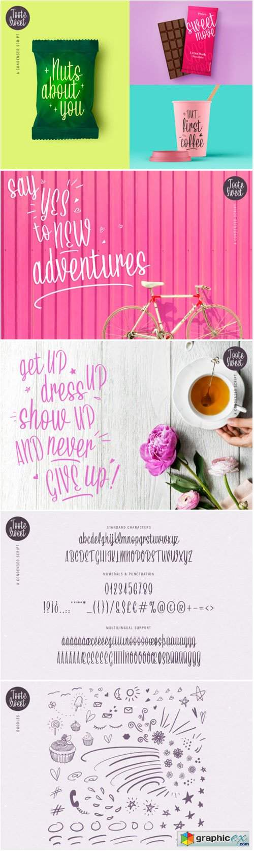 Toote Sweet Script Font